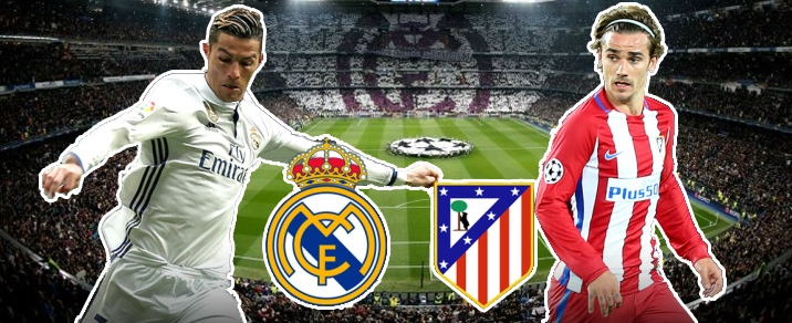 08/04/2018 Real Madrid vs Atletico de MadridSpanish League