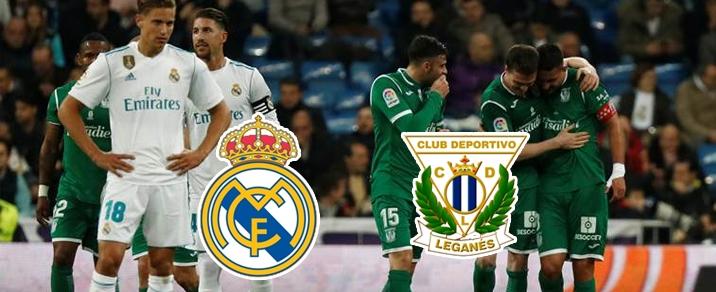 28/04/2018 Real Madrid vs CD LeganesSpanish League