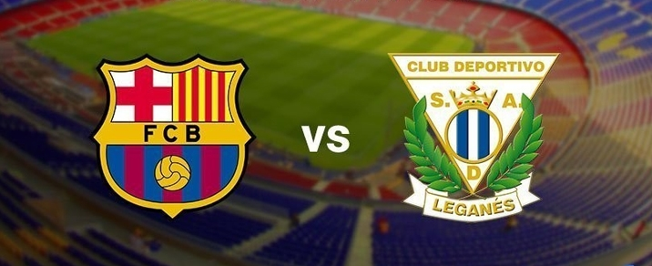 07/04/2018 FC Barcelona vs CD LeganesSpanish League