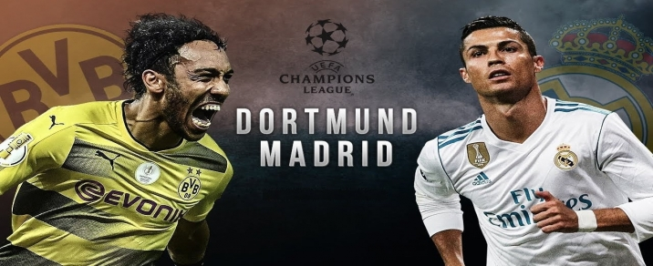 06/12/2017 Real Madrid vs Borussia DortmundChampions League