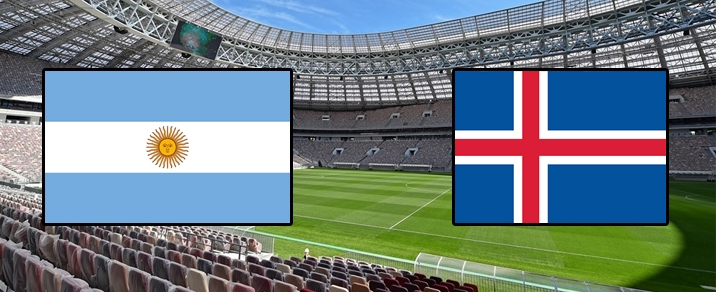 16/06/2018 Argentina vs IcelandWorld Cup 2018 - Group Stages