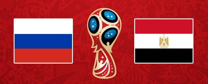 19/06/2018 Russia vs EgyptWorld Cup 2018 - Group Stages