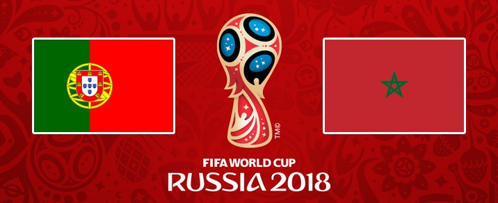 20/06/2018 Portugal vs MoroccoWorld Cup 2018 - Group Stages