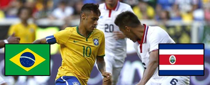 22/06/2018 Brazil vs Costa RicaWorld Cup 2018 - Group Stages