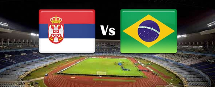 27/06/2018 Serbia vs BrazilWorld Cup 2018 - Group Stages