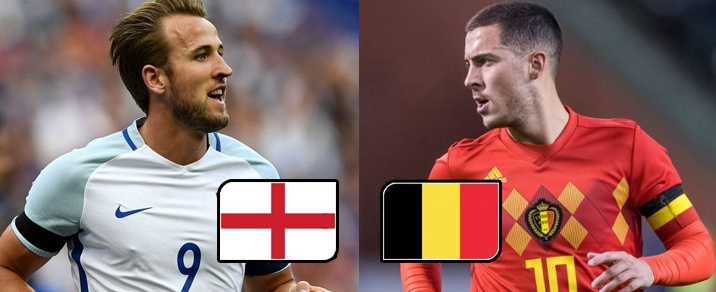 28/06/2018 England vs BelgiumWorld Cup 2018 - Group Stages