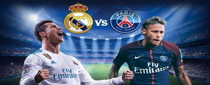 14/02/2018 Real Madrid vs Paris Saint-GermainChampions League
