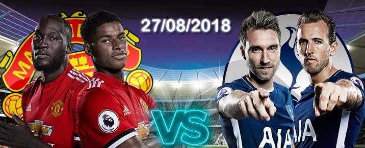 27/08/2018 Manchester United vs TottenhamPremier League