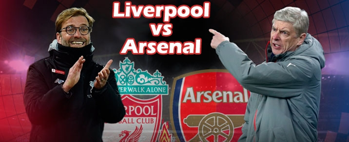 29/12/2018 Liverpool vs ArsenalPremier League