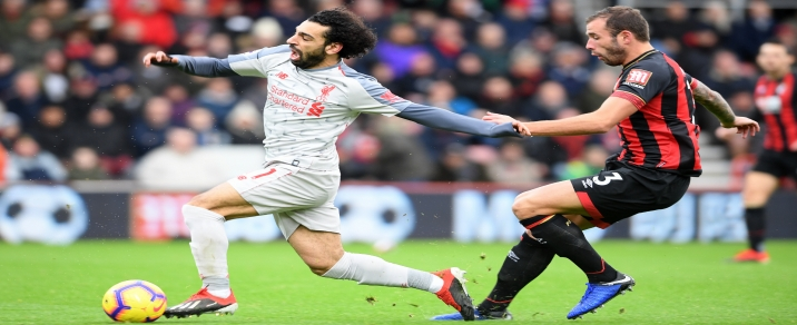 09/02/2019 Liverpool vs BournemouthPremier League