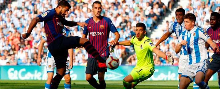 20/04/2019 FC Barcelona vs Real SociedadSpanish League