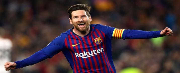 01/05/2019 FC Barcelona vs LiverpoolChampions League